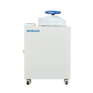 BIOBASE 2019 50L CE Approved Cheap Price Hand Wheel Type Vertical Autoclave with LED Screen