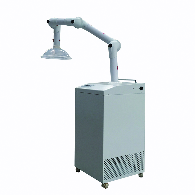 99.999% Efficiency HEPA Filter Mobile Fume Extractor