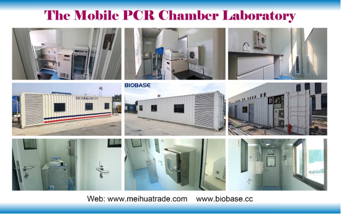 Mobile PCR laboratory